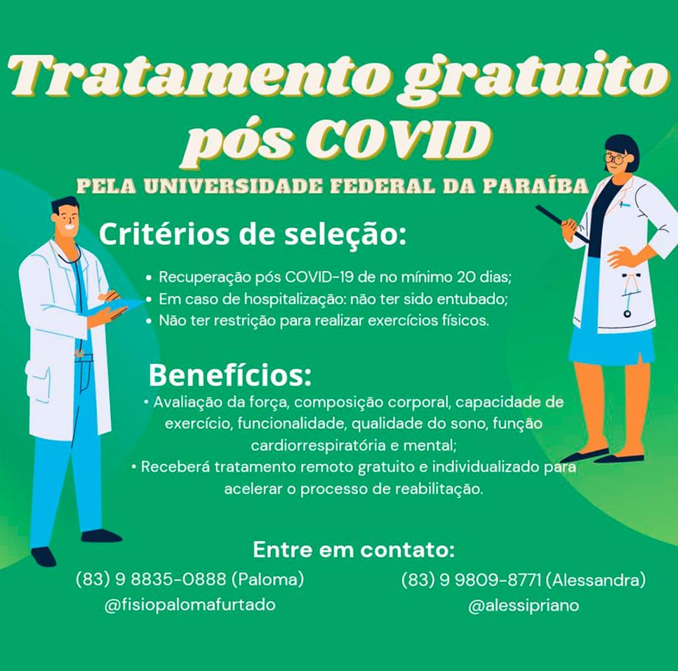 tratamento gratuito de Fisioterapia